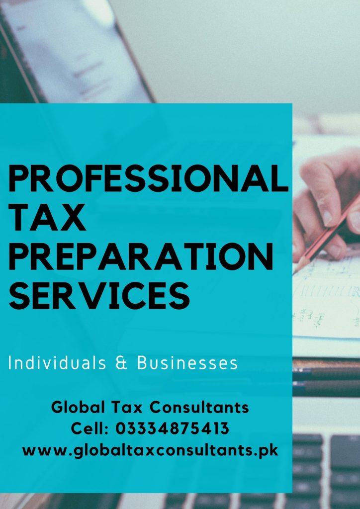 Top tax Consultants Lahore Pakistan